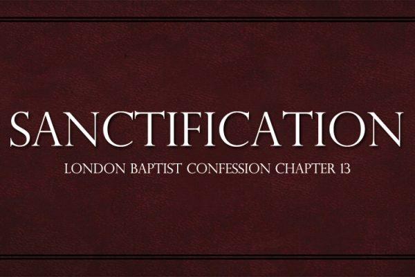 On Sanctification