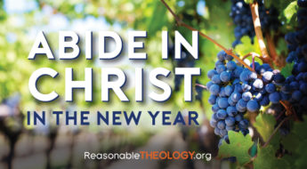 Abide in Christ in the New Year