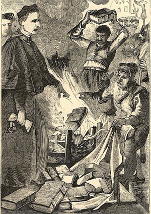 Burning the Tyndale New Testament