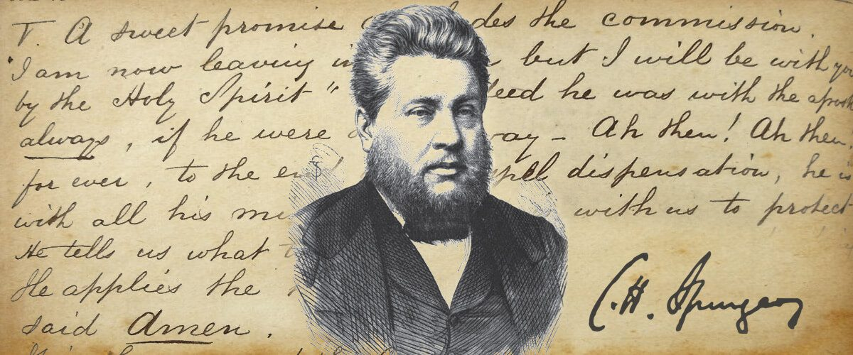 CH Spurgeon on the Holy Spirit
