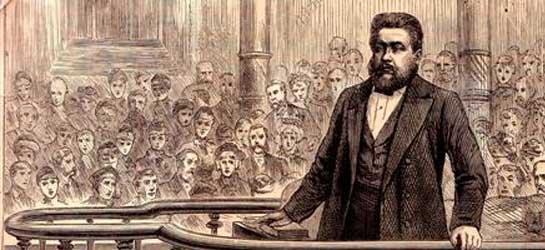 CH Spurgeon Preaching