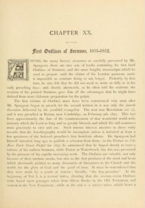 The Lost Sermons of CH Spurgeon: A New Book's 120-Year-Old