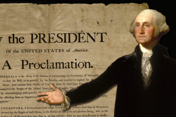 George Washington Thanksgiving Proclamation of 1789