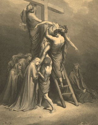 Jesus Body Removed From the Cross. Dore, Gustave (1832-83)