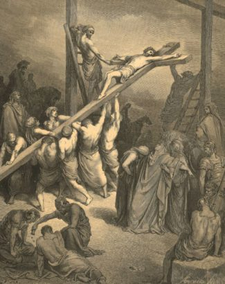 Christ is Lifted Up. Dore, Gustave (1832-1883)