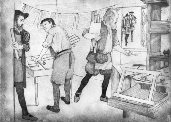 Tyndale Print Shop Raided