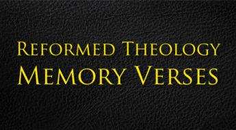 Reformed-Theology-Memory-Verses