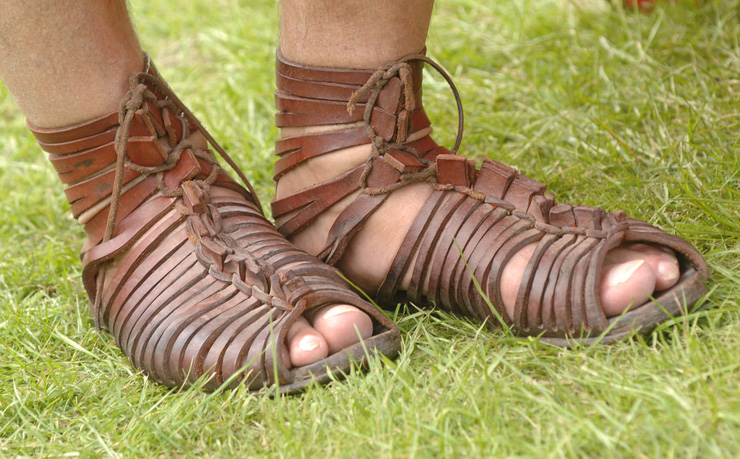 Roman Sandles - Armor of God