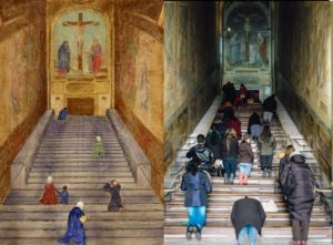 Scala Sancta - Then and Now