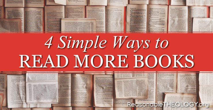 Simple Ways to Read More Books
