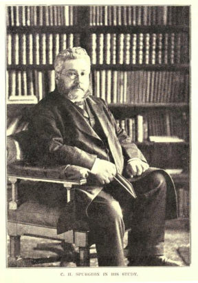 CH Spurgeon in his study