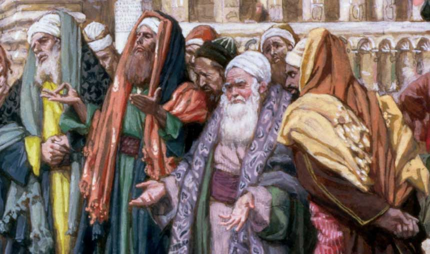 the sadducees and the pharisees essay Christ in the bible: mark's gospel  the herodians and the sadducees the pharisees believed that the jews should obey all god's laws.