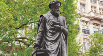 William Tyndale Statue