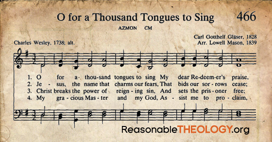 Hymn Story: O for a Thousand Tongues to Sing