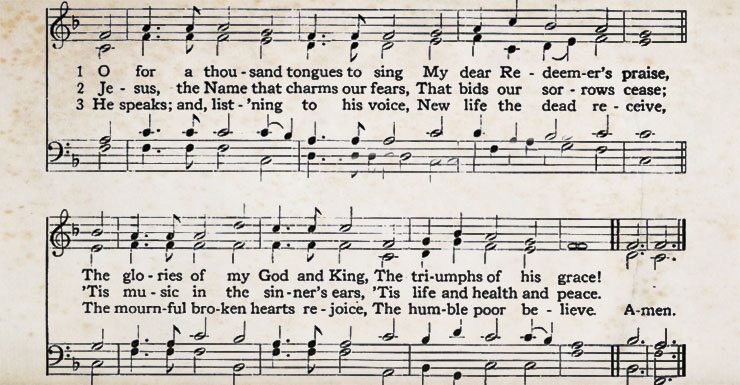 Hymn Story: O for a Thousand Tongues to Sing   ReasonableTheology org